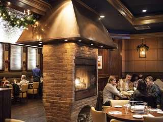 Lula Trattoria's had a fireplace mid-restaurant. (Dec. 22,