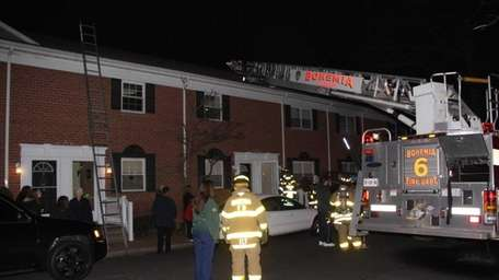 The Bohemia Fire Department responded to a call