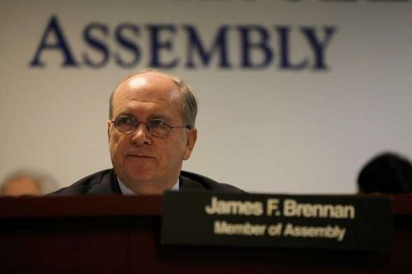 Assemb. James Brennan, chairman of the Assembly's Corporations,