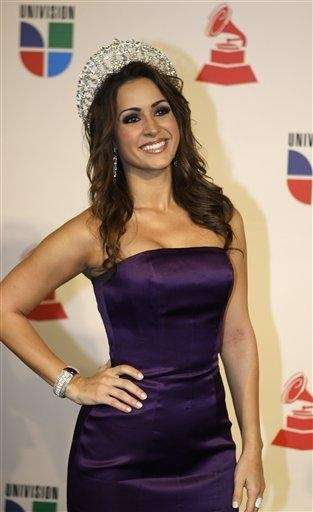 Nuestra Belleza Latina 2008 Melissa Marty arrives at