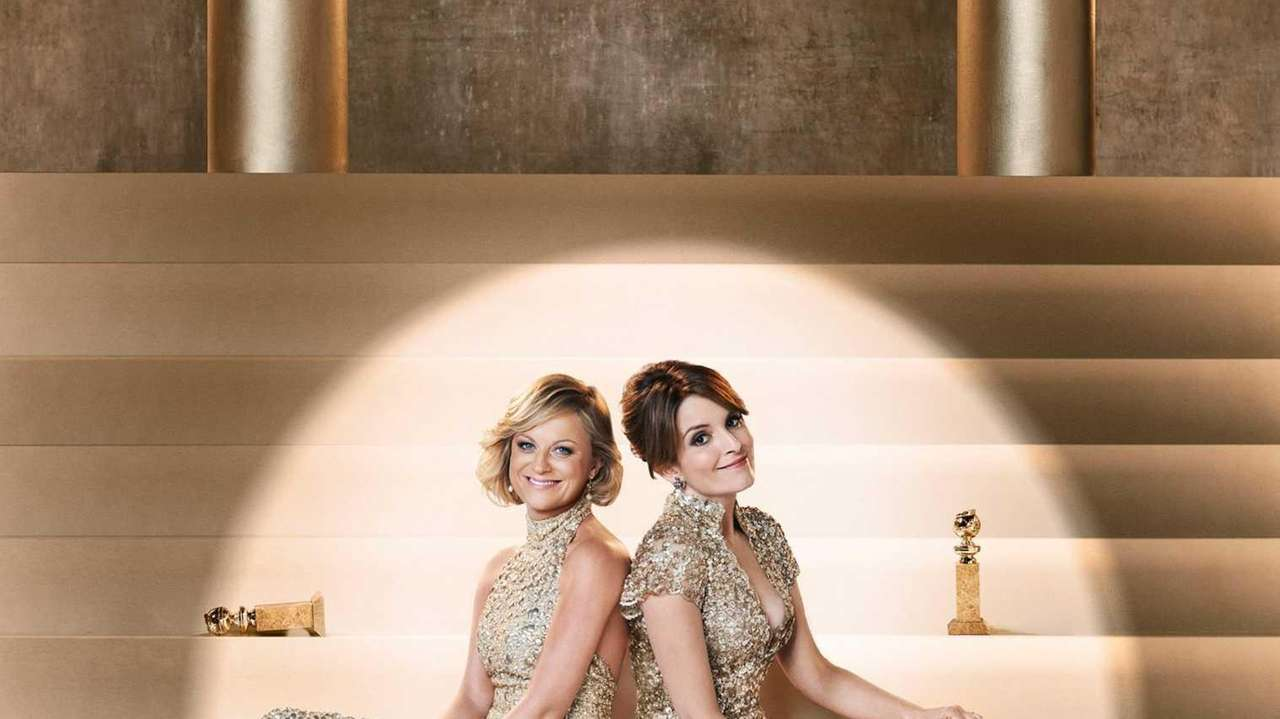 From left, Amy Poehler and Tina Fey are