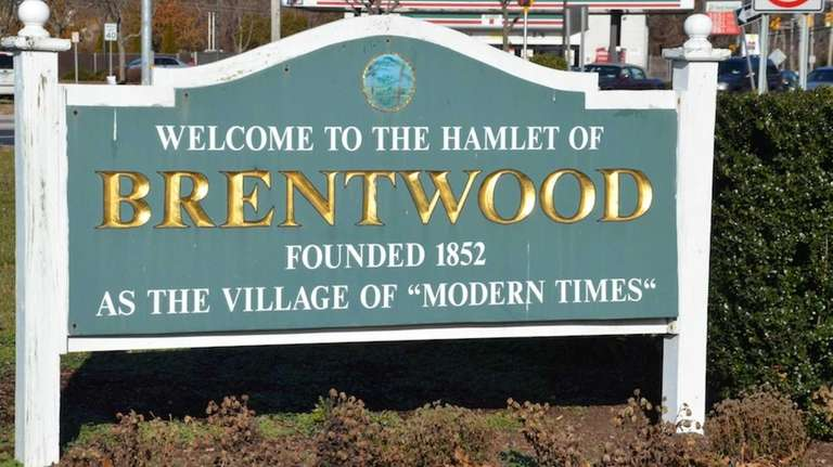Brentwood, a hamlet in the Town of Islip