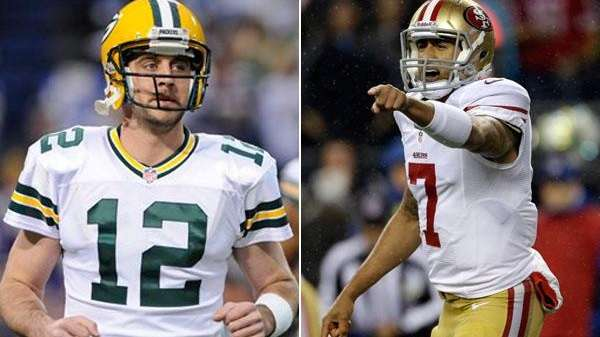 Aaron Rodgers, who grew up in San Francisco,