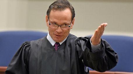 Suffolk County Supreme Court Justice William B. Rebolini