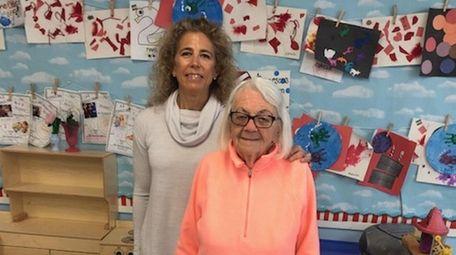 Tracey Ferguson, left, director of Merokee Day School