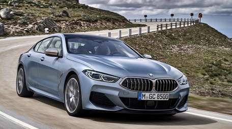 The 2020 BMW M850i xDrive Gran Coupe offers