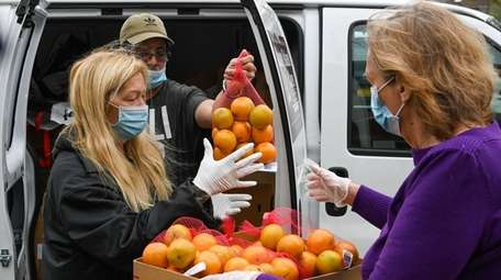 Long Island Cares says the number of hungry