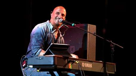 Michael DelGuidice of the Billy Joel tribute band,