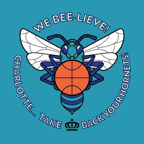 "The logo of ""We Bee-Lieve!, Charlotte take back"