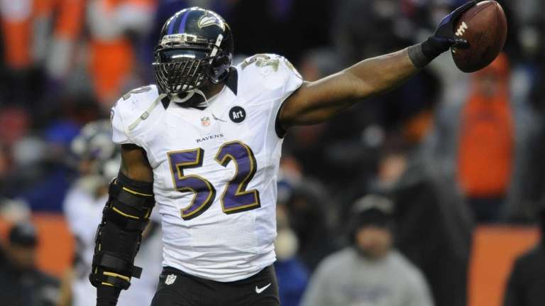 8. RAY LEWIS LB, Baltimore Ravens (Retired after