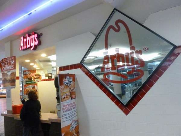 Arby's, located in the food court of the