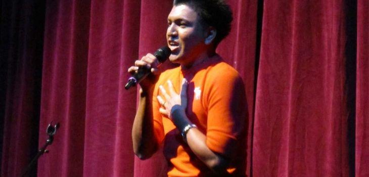 Romeo Sorto of Bellport performed Enrique Eglesias'