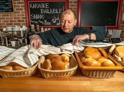 Owner Ruben Guzman at San Antonio Bakery &
