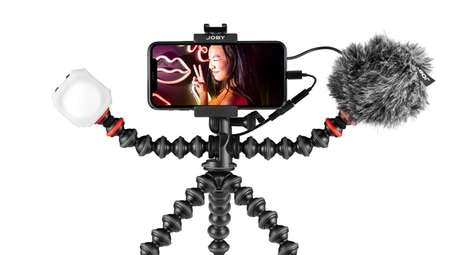 The GorillaPod Mobile Vlogging Kit consists of the
