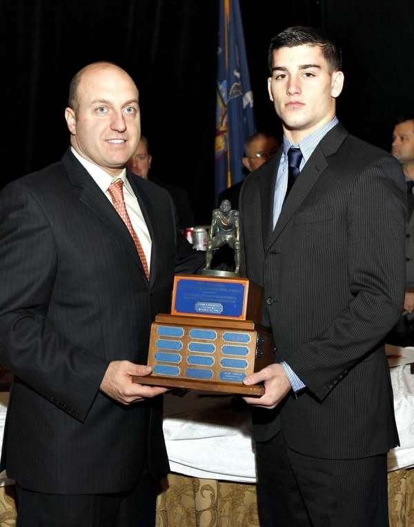 The 2012 Piner Award for most outstanding linebacker