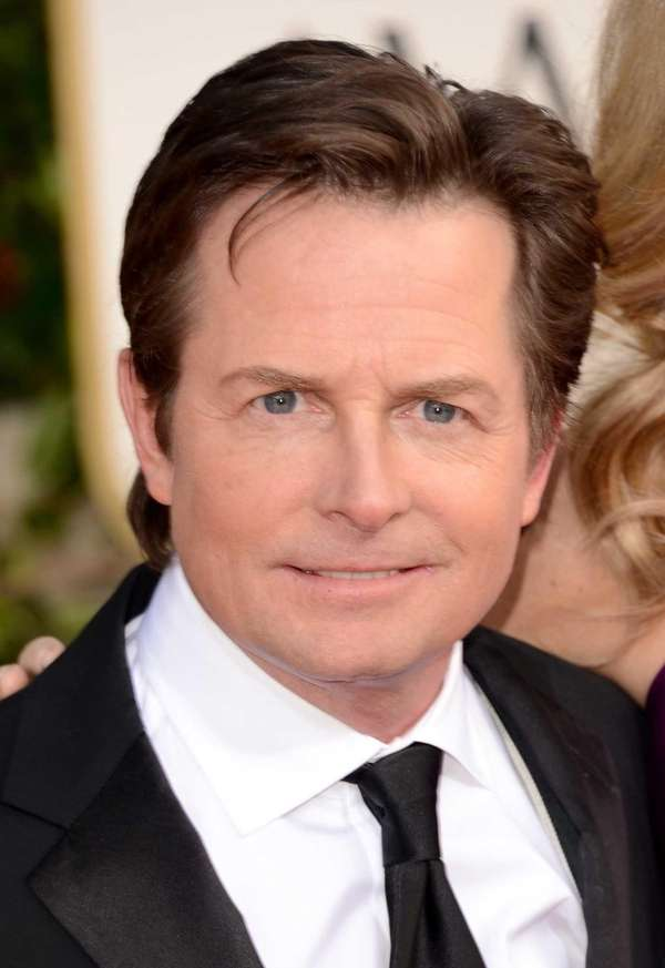 Actor Michael J. Fox at the 70th annual