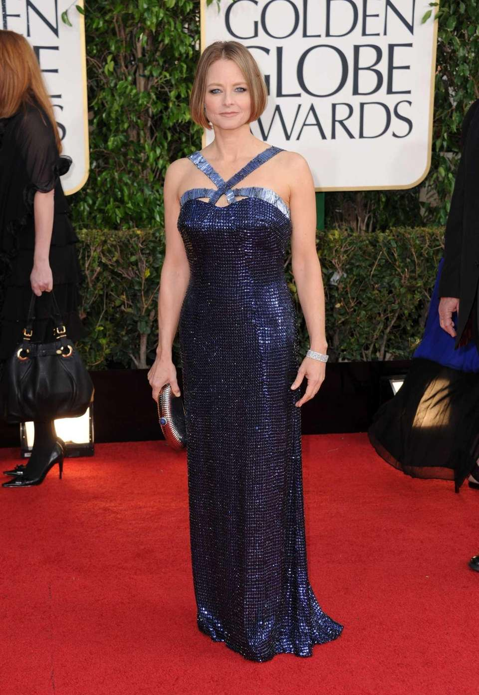 Actress and filmmaker Jodie Foster arrives at the