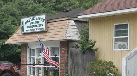 Town Hall in the Village of Mastic Beach