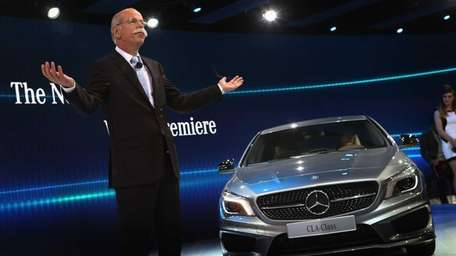 Dr. Dieiter Zetsche, chairman of the board at