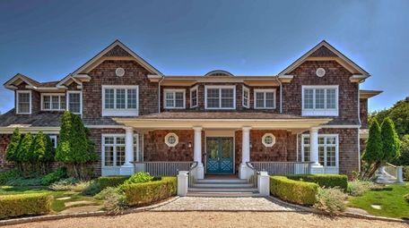 This 8,000-square-foot home in Bridgehampton has seven bedrooms,