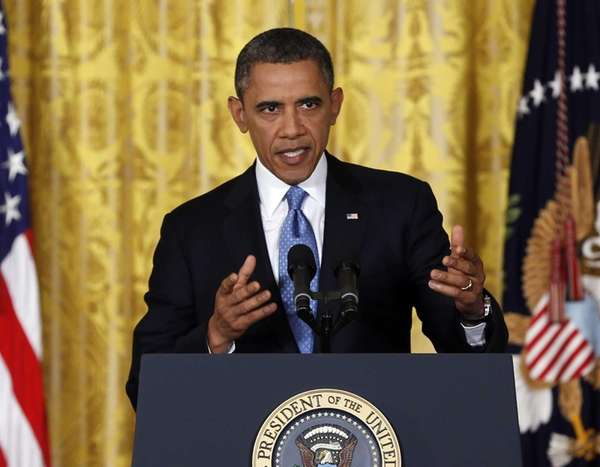 President Barack Obama speaks about the debt limit