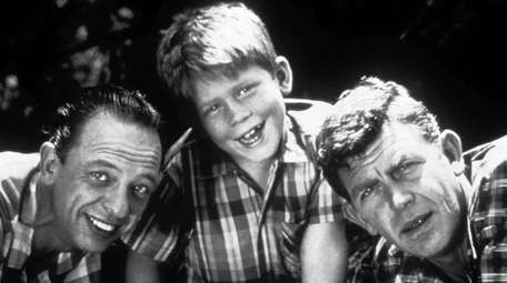 """Cast members from """"The Andy Griffith Show,"""" from"""