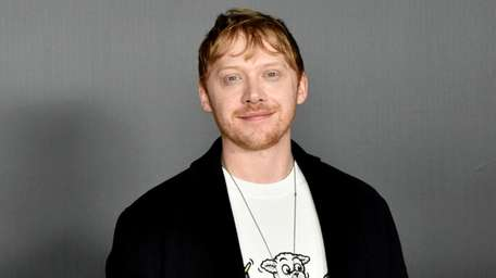 """Harry Potter"" star Rupert Grint is a first-time"