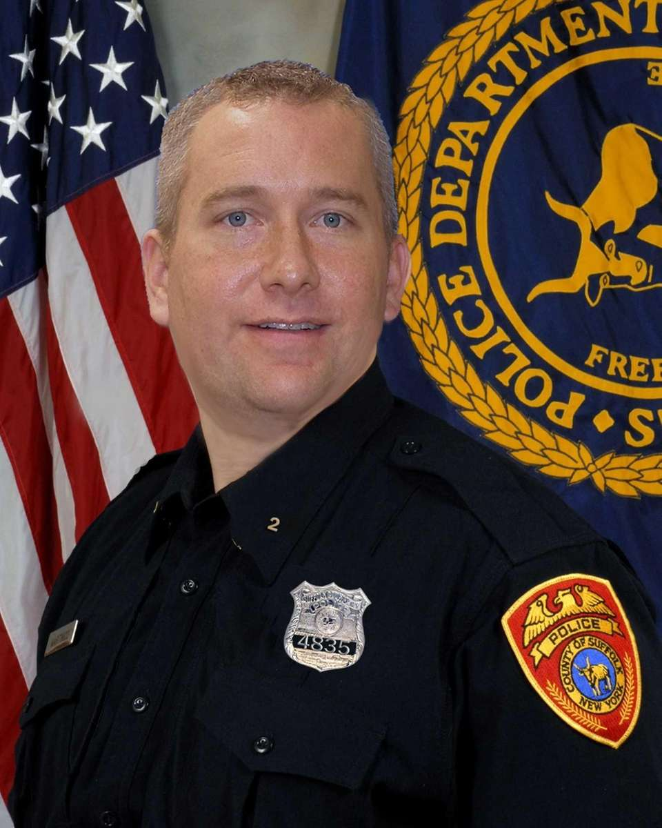 Off-duty Suffolk County police officer Patrick Curley, of