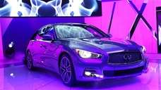 Infiniti introduces the 2014 Q50 to replace their