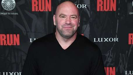 UFC President Dana White attends the grand opening