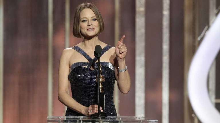 Jodie Foster receives the Cecil B. Demille Award