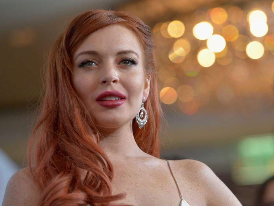 Redheaded actress Lindsay Lohan was born July 2,
