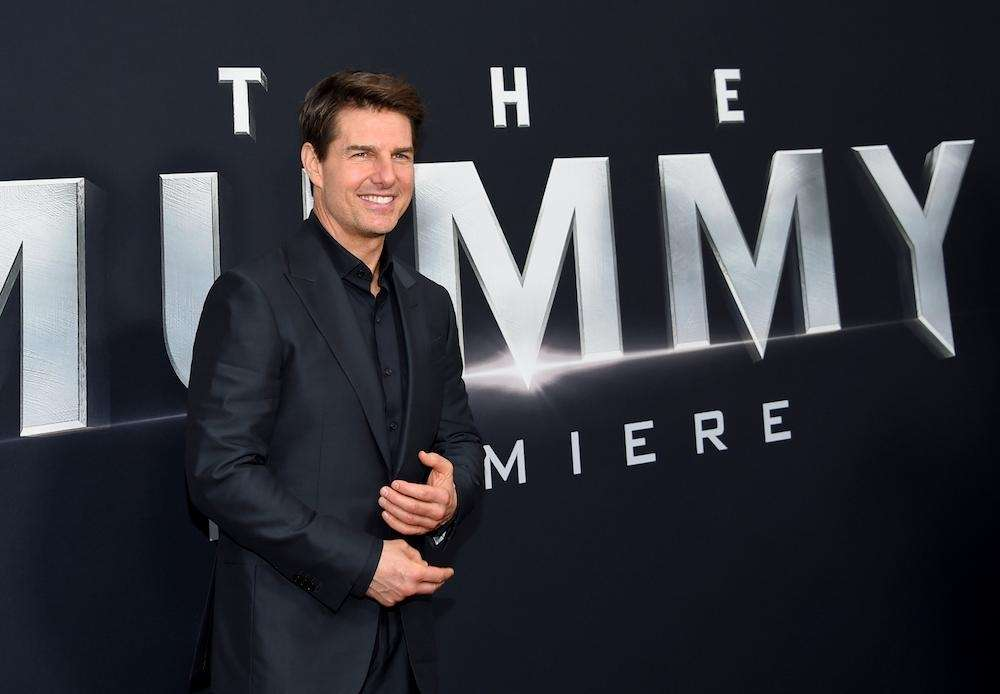 Tom Cruise, who starred in