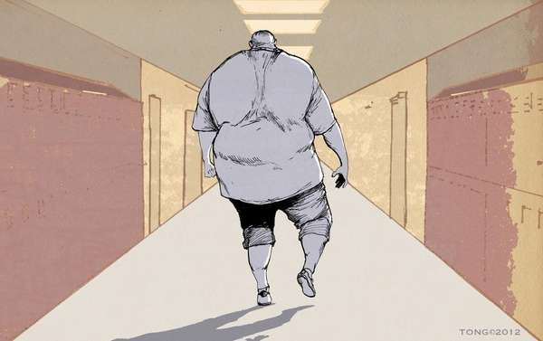 """Denying the very real dangers of being obese"