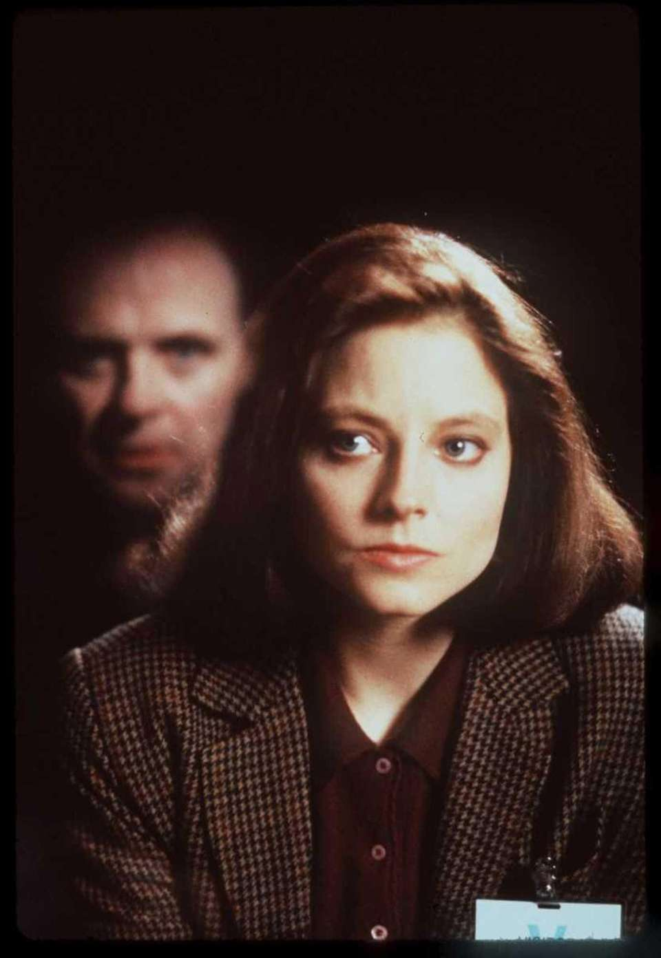 Anthony Hopkins as Dr. Hannibal Lecter and Jodie