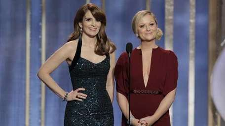 Tina Fey and Amy Poehler hosted the 70th