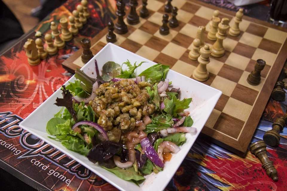 Agricola Nut 'N Berry Salad is served at