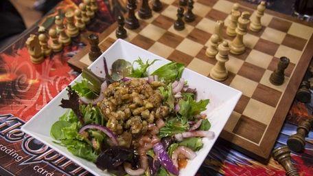 Agricola Nut 'N Berry Salad is served at
