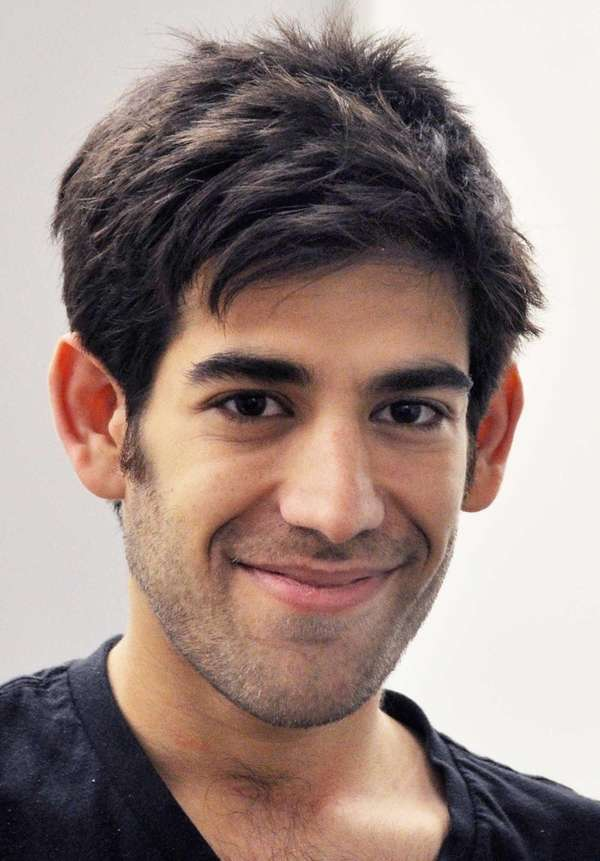 Aaron Swartz, in New York. Swartz, a co-founder