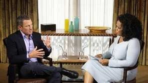 Oprah Winfrey's interview with disgraced cyclist Lance Armstrong