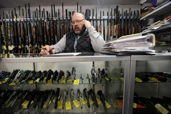 Andrew Chernoff, owner of Coliseum Gun Traders LTD.