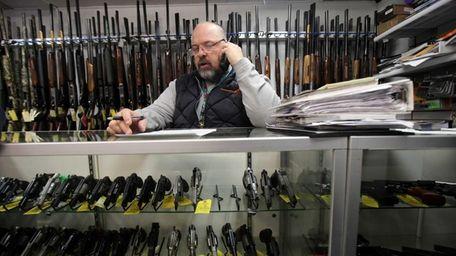 Andrew Chernoff, owner of Coliseum Gun Traders LTD.