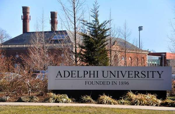 Adelphi University in Garden City. (April 14, 2011)