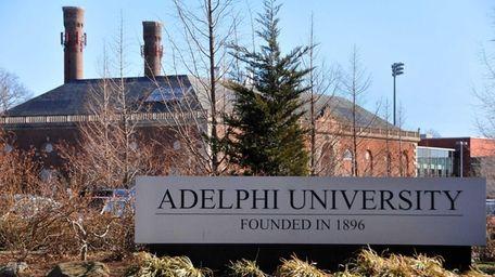 Adelphi University in Garden City. (April 14, 2011)