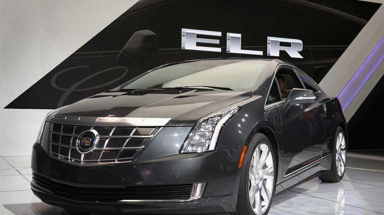 Cadillac shows off its ELR extended-range luxury hybrid