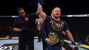 Justin Gaethje stopped Tony Ferguson in the fifth
