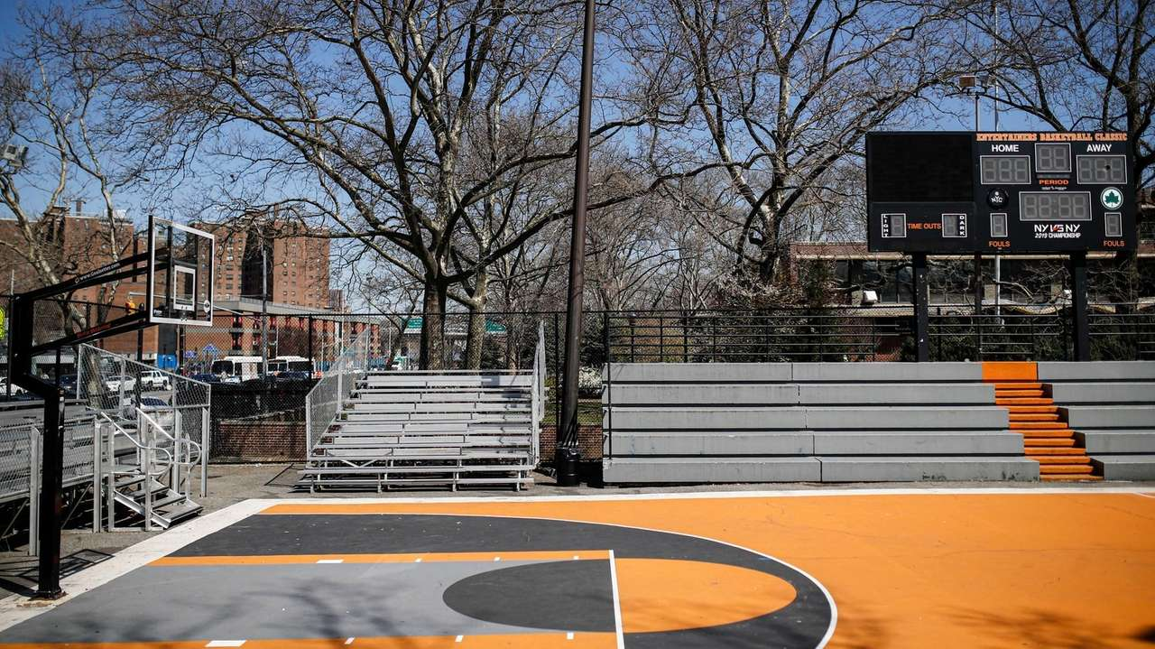 Famed New York City Basketball Courts Are Strangely Silent Amid Coronavirus Pandemic Newsday