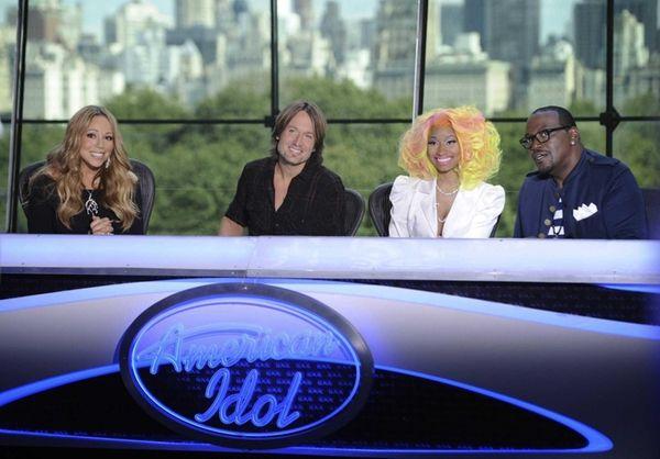 Mariah Carey, Keith Urban, Nicki Minaj and Randy