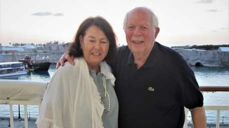 Harriett and Larry Weiss of Melville had booked