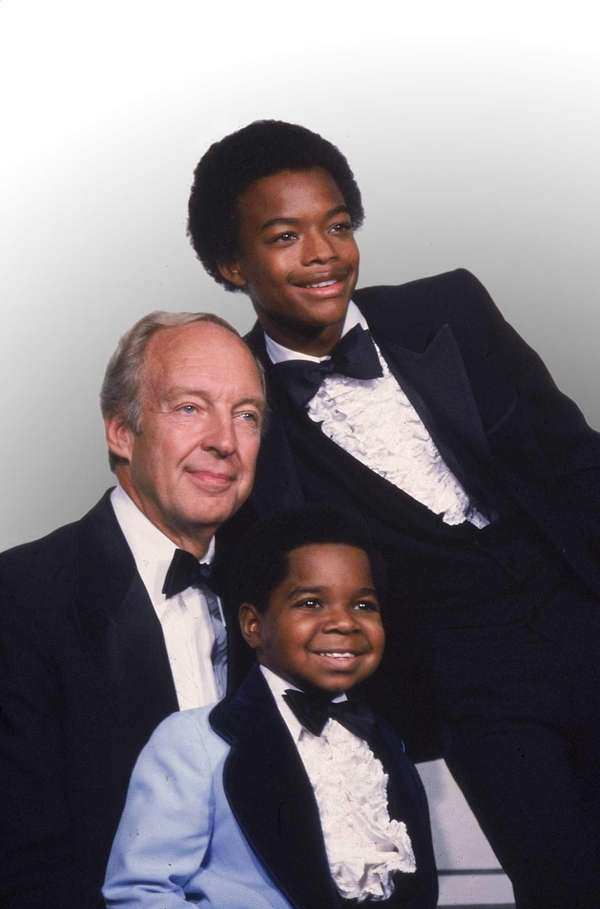 Clockwise from foreground, Gary Coleman, Conrad Bain and